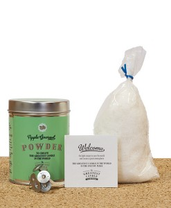 Apple Gourmet DIY powder set for natural candle 2