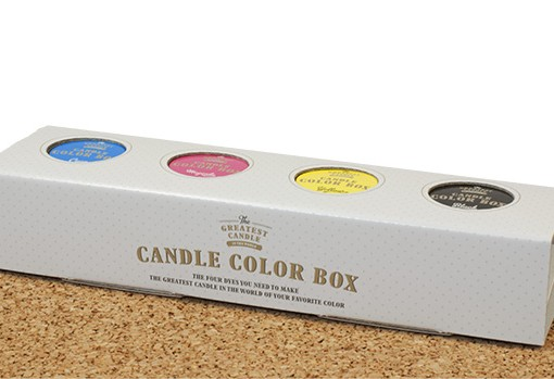 color kit for DIY candles