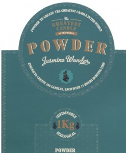 Jasmine Wonder DIY powder for natural candle