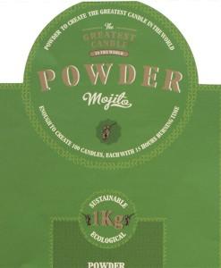 Mojito DIY powder for natural candle