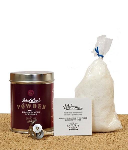 spice wood powder for candles